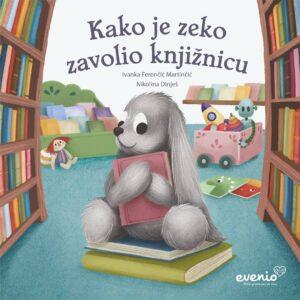 Naslovna stranica Kako je zeko zavolio knjižnicu