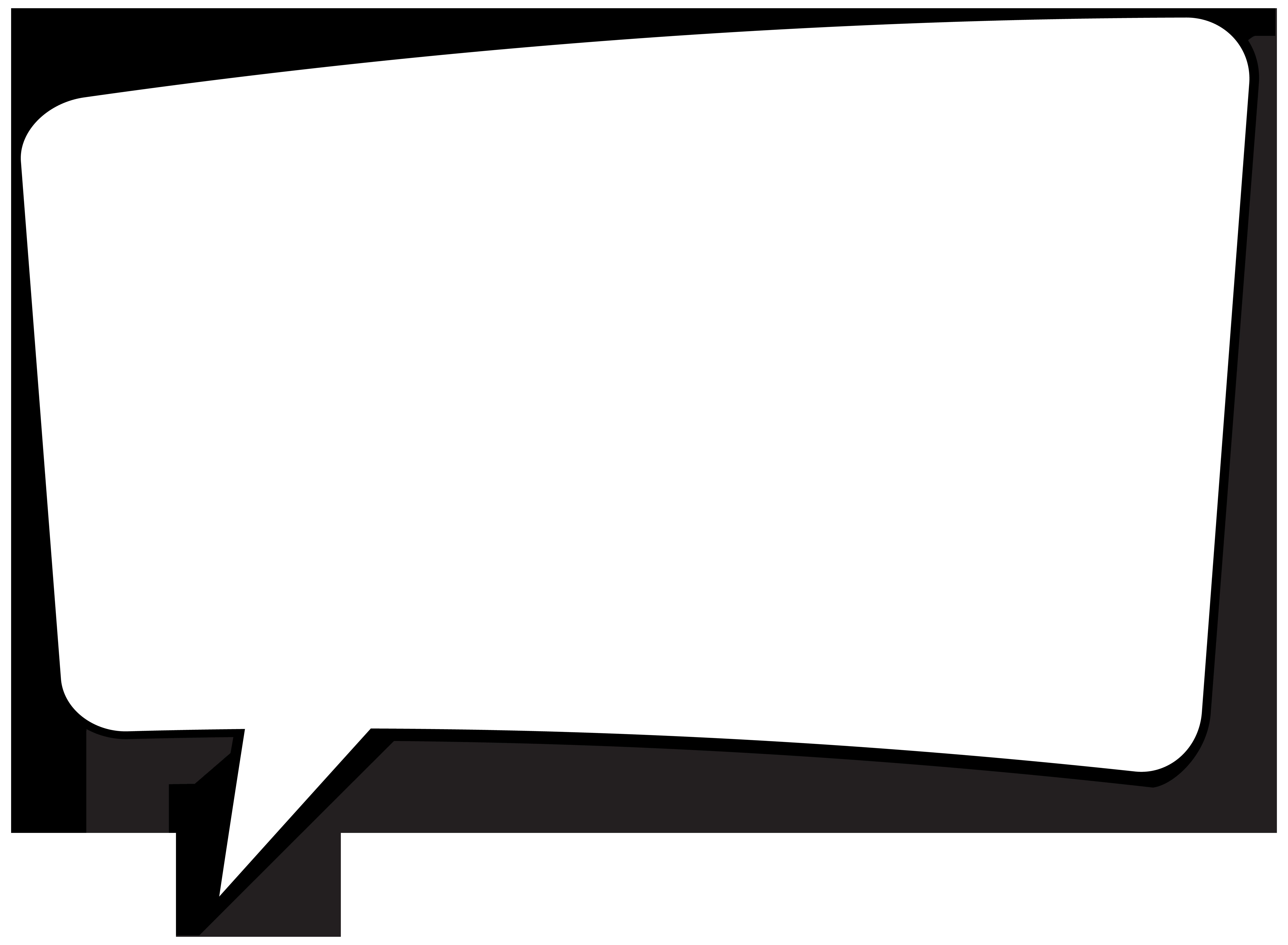Slika okvira unutar kojeg se može nalaziti tekst