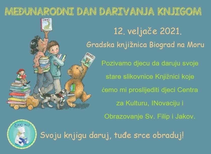 Plakat Međunarodnog dana darivanja knjigom